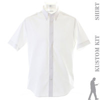 Tailored fit premium Oxford shirt short sleeve