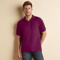 Ultra Cotton™ combed ringspun adult piqué polo