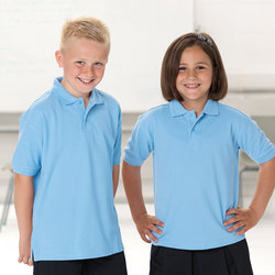 Kids hardwearing polo shirt