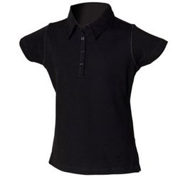 Kids stretch polo