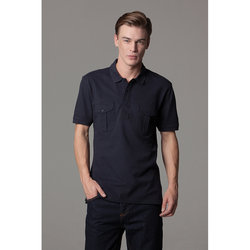Pocket polo short sleeved