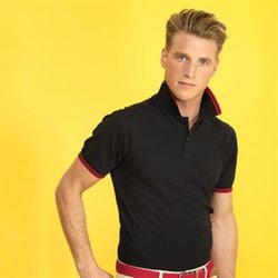 Men's classic fit - tipped polo