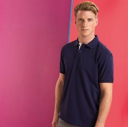 Men's classic fit - contrast polo