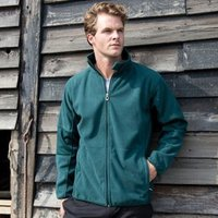 Osaka combed pile softshell jacket