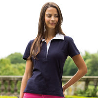 Women's short sleeve 'stretch' rugby shirt