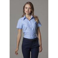 Women's workplace Oxford blouse short sleeved