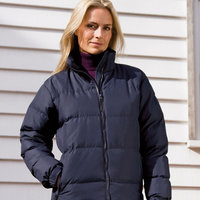 Women's Holkham down feel jacket