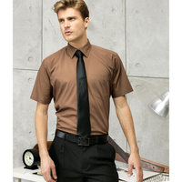 Short sleeve poplin shirt