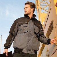 Work-Guard zip sleeve heavy duty pilot jacket