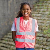 Kids enhanced visibility vest