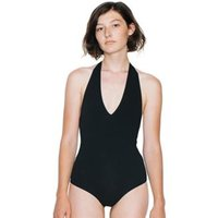 Women's cotton Spandex halter leotard (RSA8312)