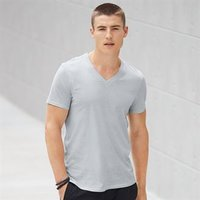 Anvil featherweight v-neck tee