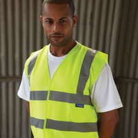 Top cool open mesh 2 band and braces waistcoat (HVW120)