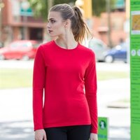 Women's feel good long sleeved stretch t-shirt