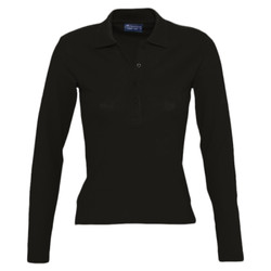 SOLS Lds Podium L/S polo