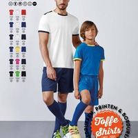 Voetbal tenue Racing 2 shirts + 1 broek | Soccer set Racing Racing 2 shirts + 1 short